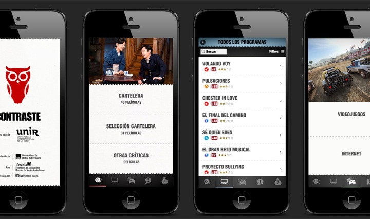 App-Contraste