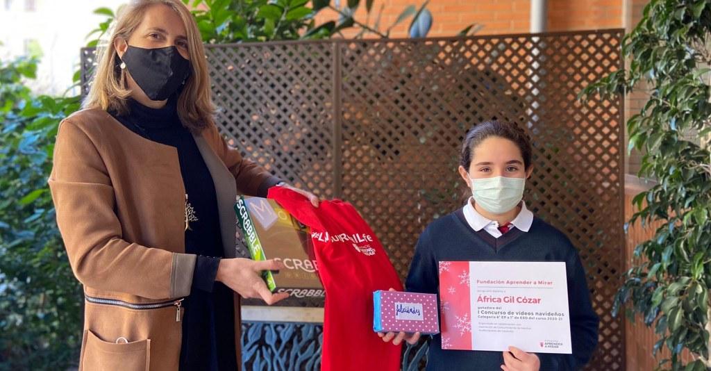 África ganadora concurso videos navidad Fundación Aprender a Mirar